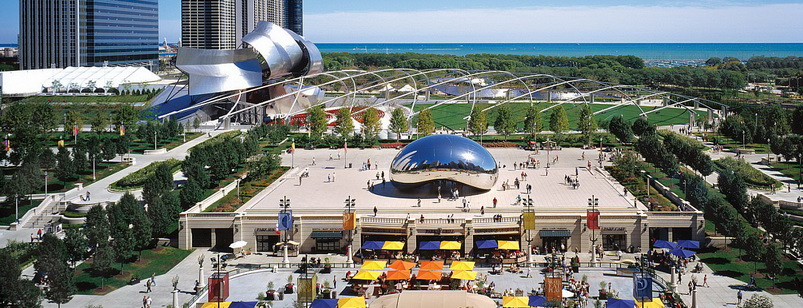 Миллениум парк в Чикаго