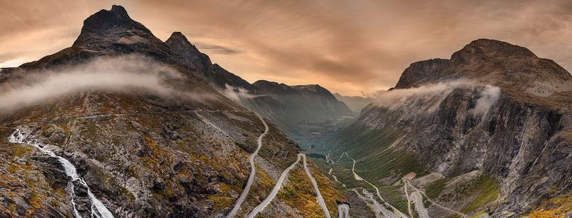 Лестница Троллей: необычная норвежская дорога