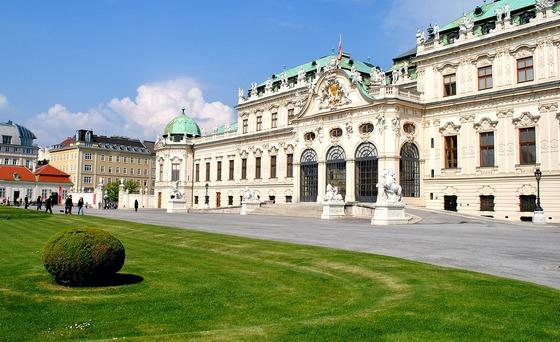 Бельведер, Австрия