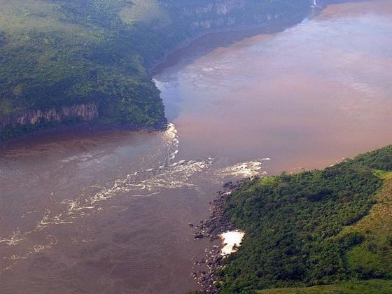 Самая глубокая река в мире: река Конго