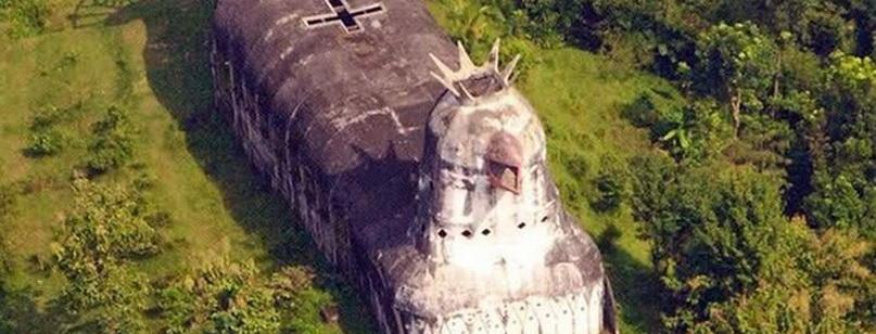 Церковь в виде курицы: Gereja Ayam