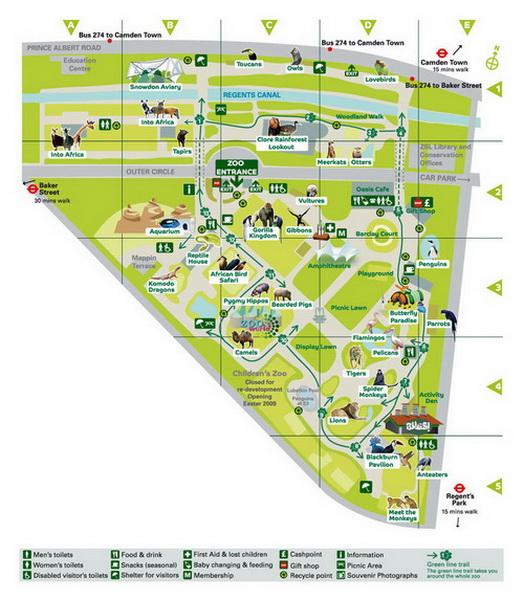 Лондонский зоопарк