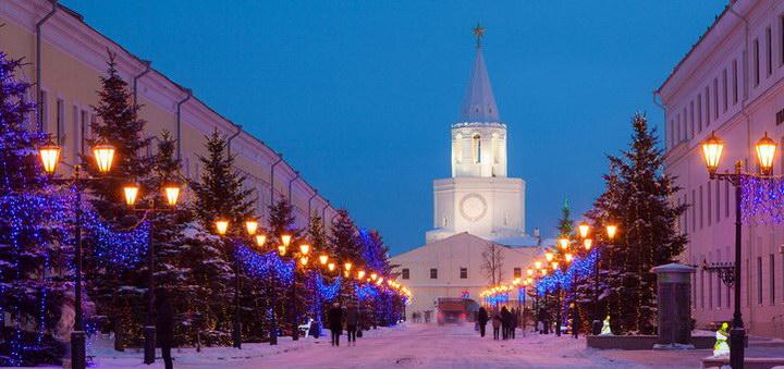 Где встретить Новый год 2017 в Казани