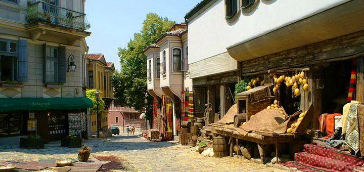 Болгария, курортный городок