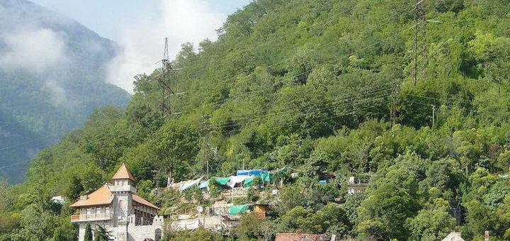 Замок в Абхазии