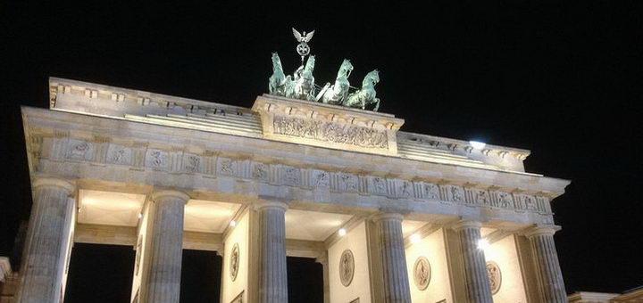 Известные в Германии Бранденбургские ворота