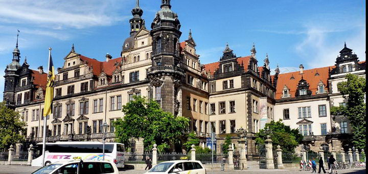 Замок в Дрездене