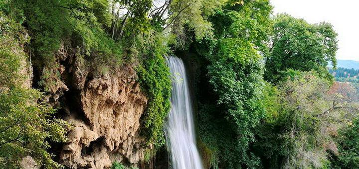 Греческие водопады Эдессы