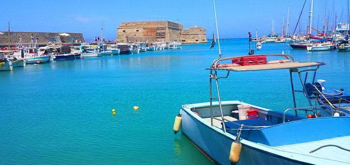 Порт, откуда можно увидеть Олус