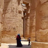 Город мертвых в Египте