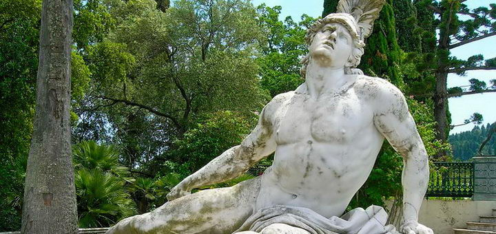 Статуя Ахиллеса