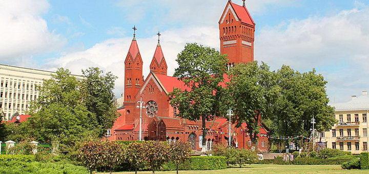 Костел Святых в Белоруссии