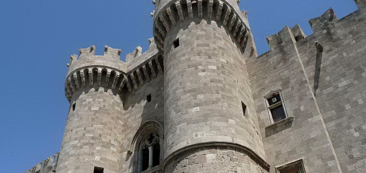 Дворец на Родосе