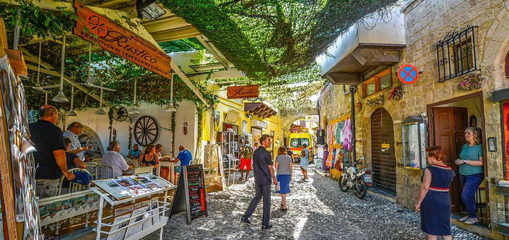 Родосский старый город