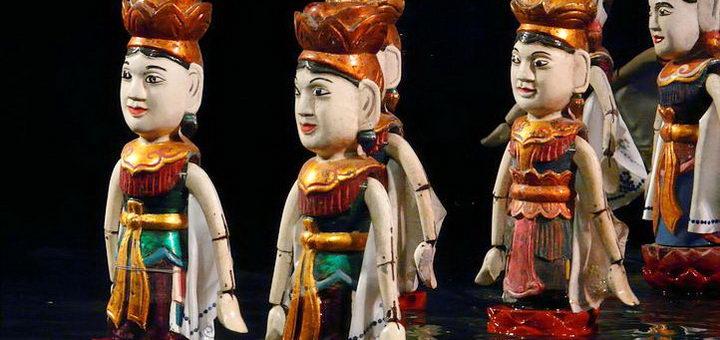Театр кукол в Ханое