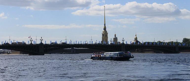 экскурсия по каналам и рекам санкт петербурга цена