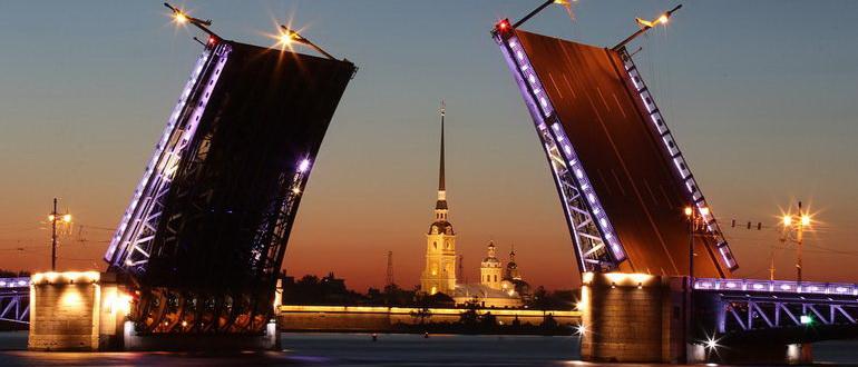 экскурсия разводные мосты санкт петербурга на теплоходе